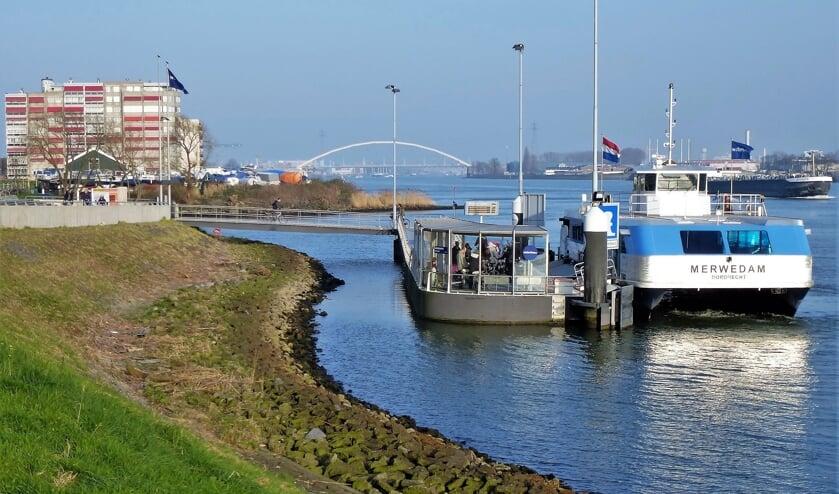 <p>&bull; De Waterbus bij Papendrecht.</p>