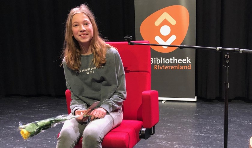 • Famke van Heuckelum van het Cambium doet op 6 april mee aan de Provinciale voorronde in Apeldoorn.