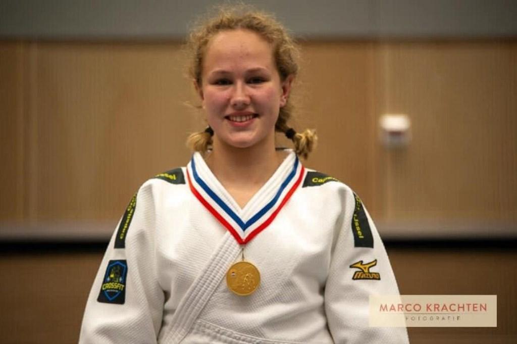• Yael van Heemst: Nederlands kampioen.  © Krimpenerwaard