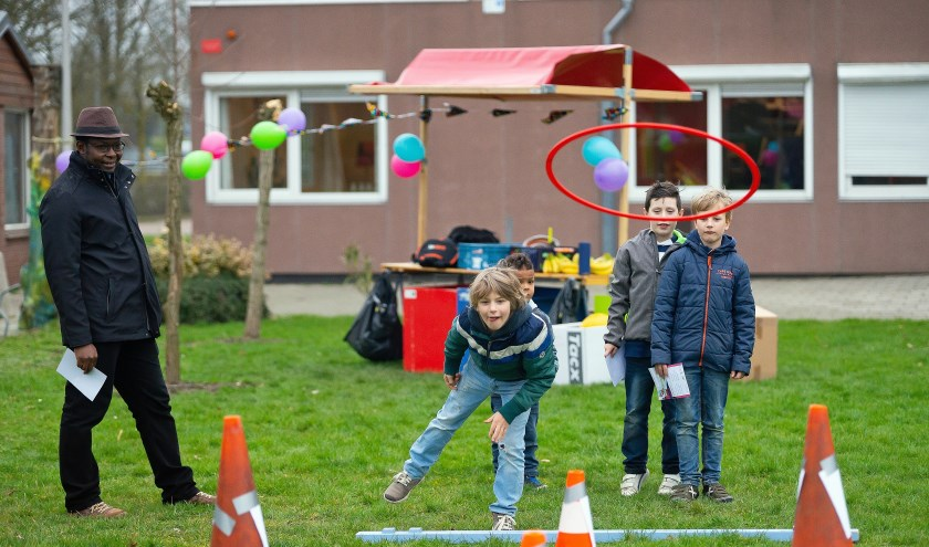 Buitenspeelactiviteit  thema 'Winterspelen'