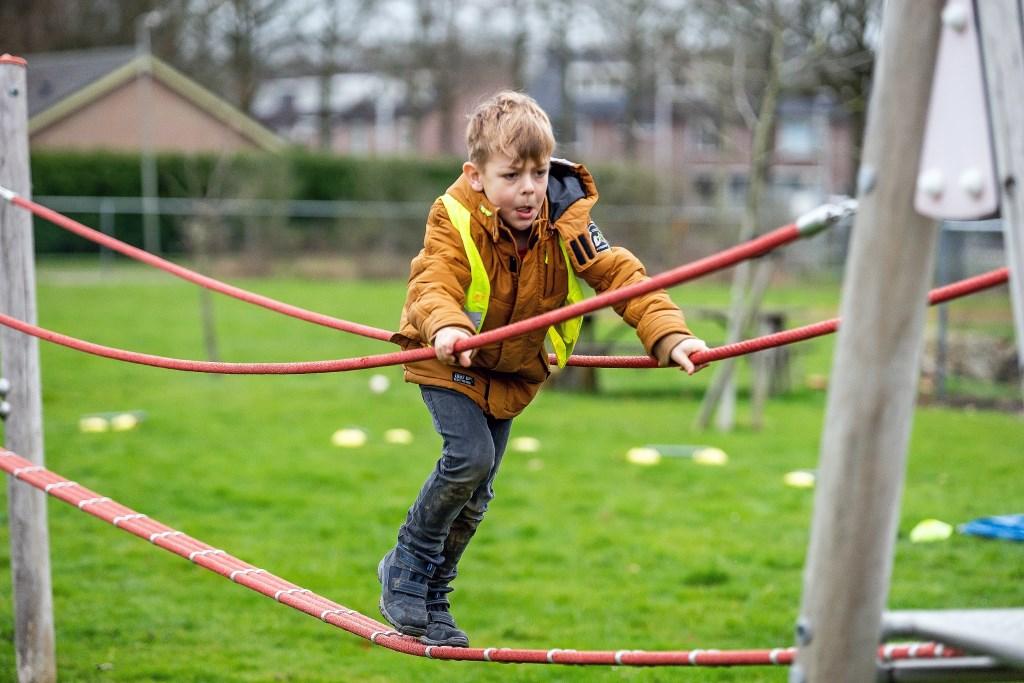 Buitenspeelactiviteit  thema 'Winterspelen'  © Vianen