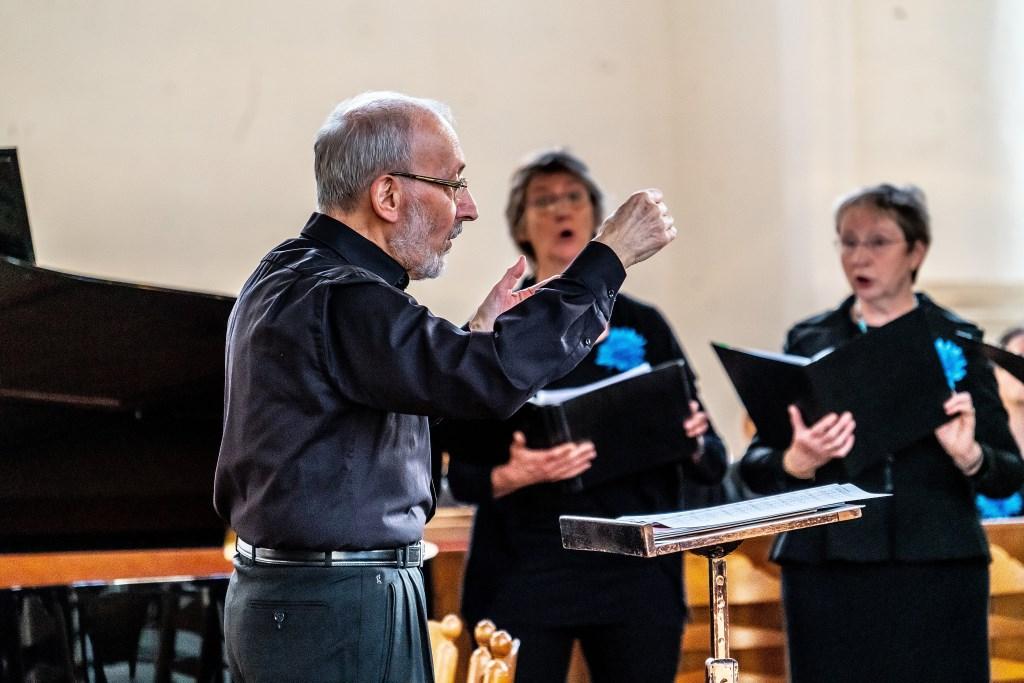 Kamerkoor Vianen, Kracht van het Water concert in de Grote Kerk Foto: Nico Van Ganzewinkel © Vianen