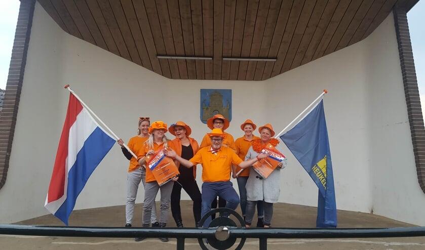 • Oranjevereniging Heukelum is er klaar voor.