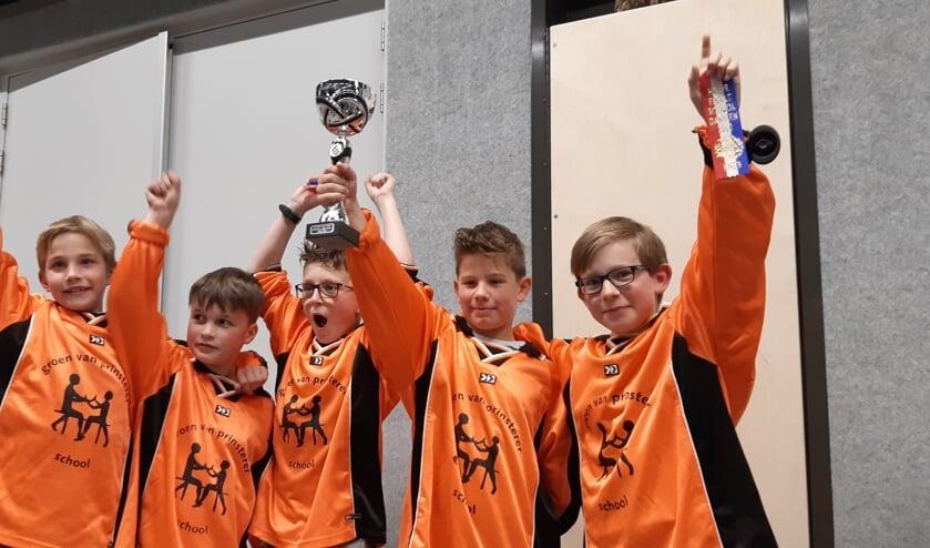 Piet, Sepp, Tim, Thijs, Julien