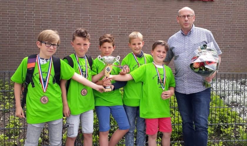 • Het team van de Groen van Prinstererschool.