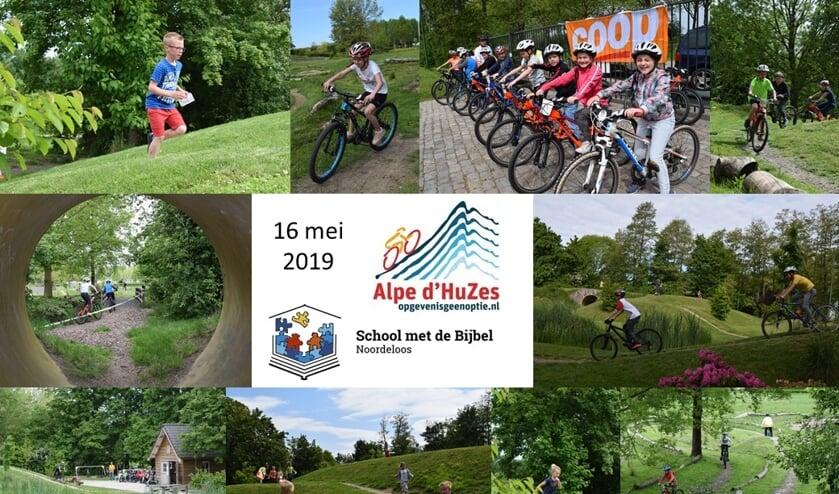 • Enkele deelnemers aan de fietstocht van SmdB Noordeloos.