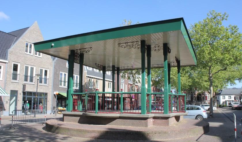 • De Kijkdoos wordt geplaatst in de muziektent op het Mgr. Zwijsenplein.