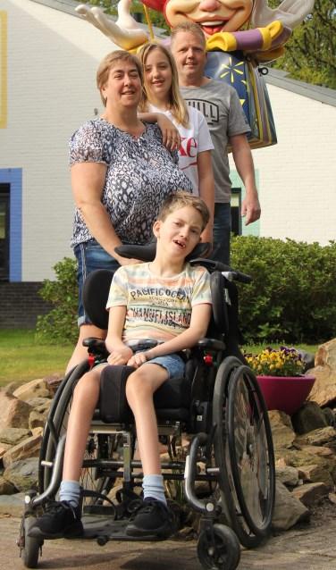 • Marianne Duits met haar gezin.