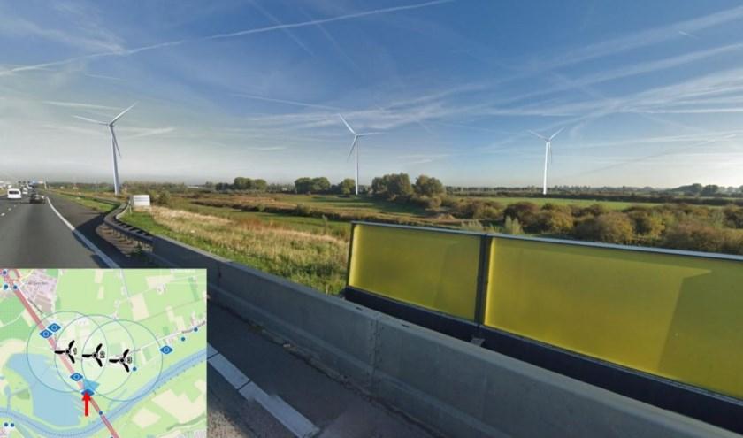 • Zo moeten de windmolens bij Hoenzadriel eruit komen te zien.