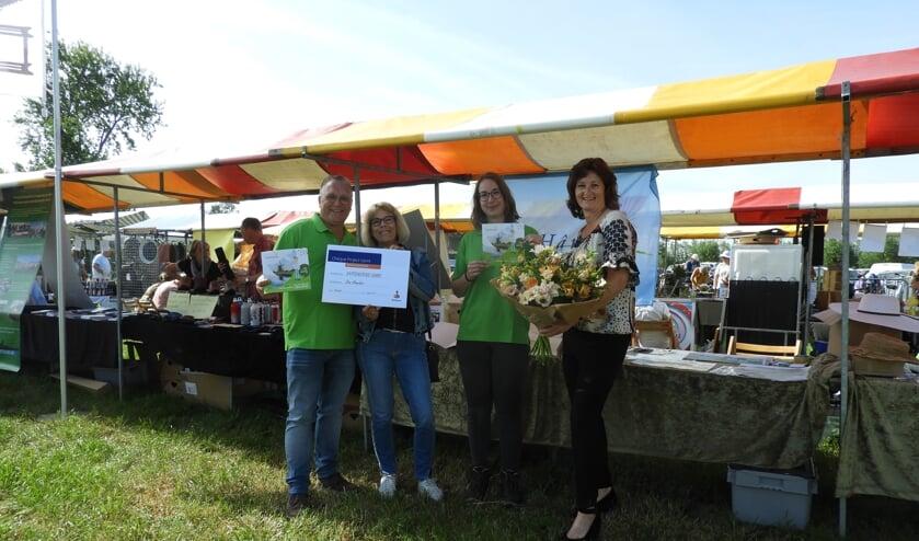 • Kees Commijs, Tilly Tukker, Desiree Aantjes en Arna van Werd.