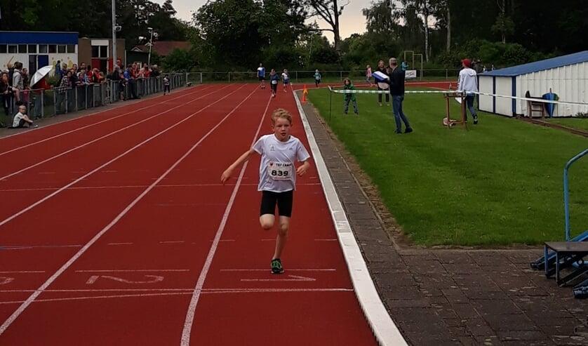 • Timon Voogt heerste op de 1000 meter.