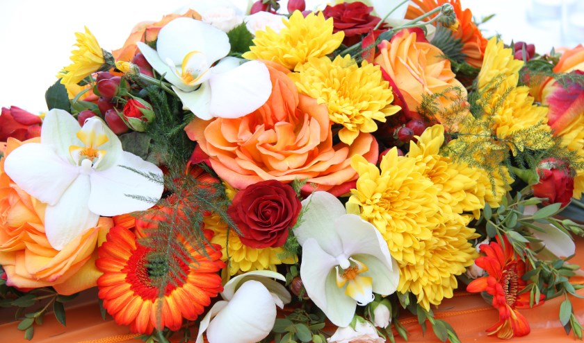 • De wijkagent bedankte de getuige en bracht hem een bos bloemen.