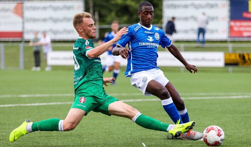 • FC Den Bosch-FC Dordrecht eindigde in Zaltbommel in 0-1.
