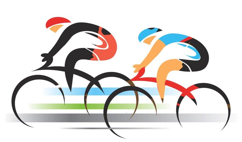 • Wielrenners uit de regio verschenen in meerdere wedstrijden aan de start.