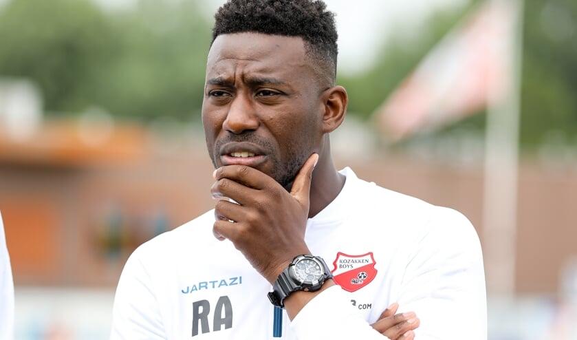 • Rick Adjei wil komend seizoen met Kozakken Boys weer in de top-6 spelen.