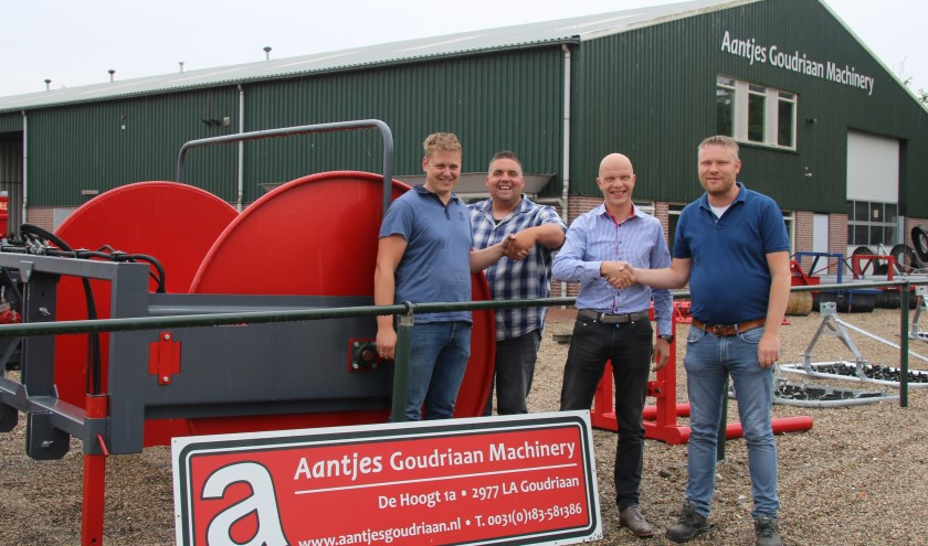 • Samenwerking met Aantjes Machinery Goudriaan.