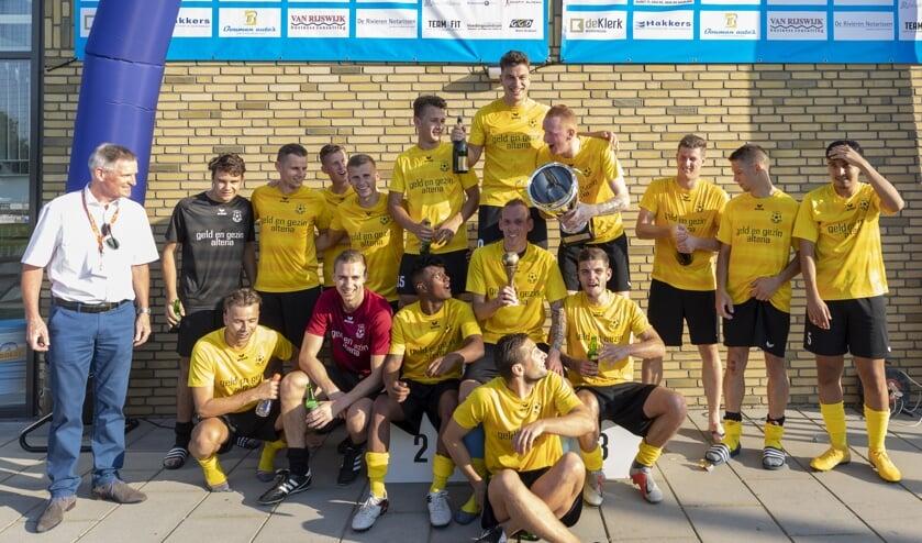 • Wilhelmina'26 winnaar van de eerste Altena Cup.