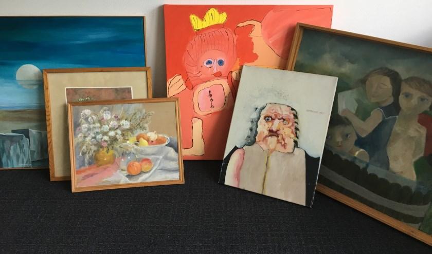 • Deze schilderijen gaan zeker naar de veiling.