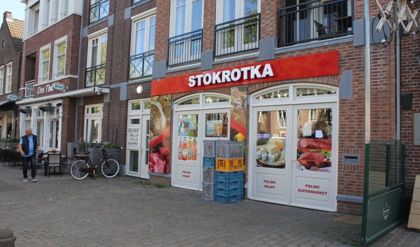 • Voor de Oost-Europese werkers zijn er al supermarkten, zoals deze in Kerkdriel, maar het inschrijfloket werkt volgens het CDA nog niet zo goed.