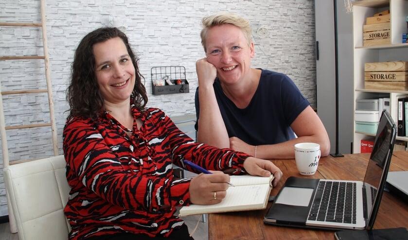 • Esther Jeras (links) en Ingeborg de Keizer zijn een crowdfundingsactie gestart.