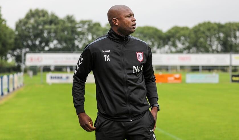 <p>• SVW-trainer Tutu N'Dona.</p>
