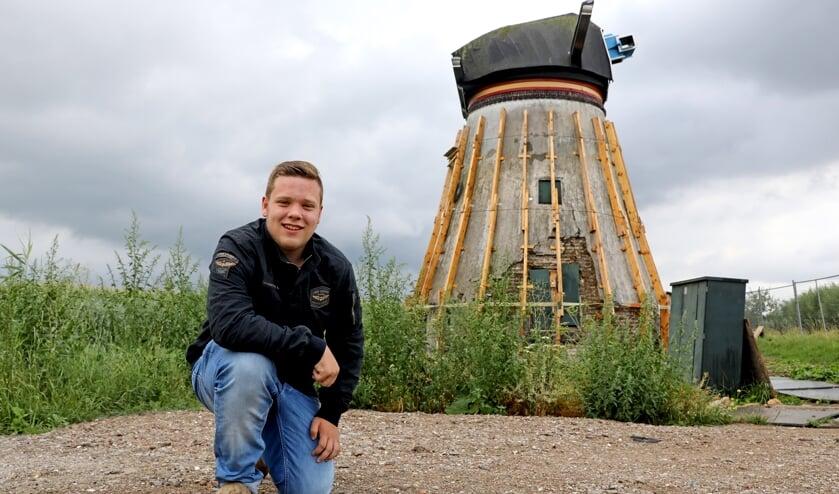 • William bij de Souburgse molen.