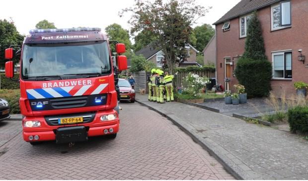 • De keukenbrand was snel geblust. Foto: Jurgen Versteeg © Bommelerwaard