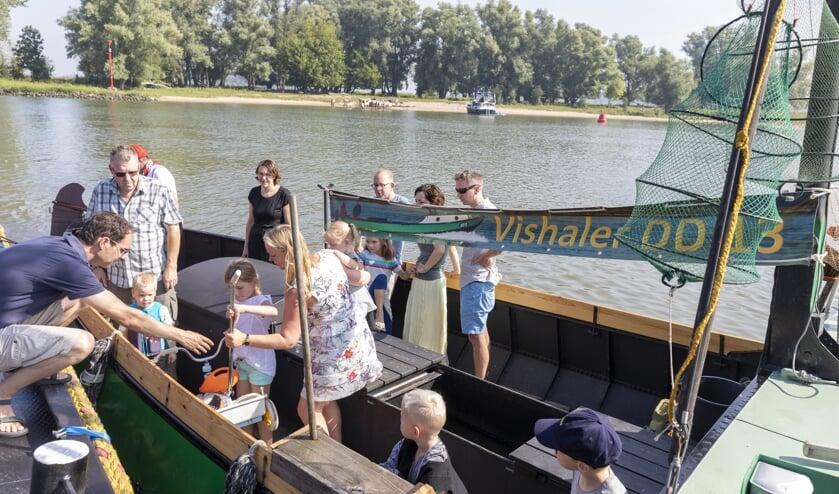 • Tijdens de visserijdag kon er natuurlijk op bootjes gekeken worden.