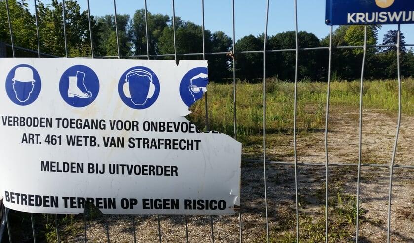 • De betreffende (AZS)locatie, achter Het Bastion in Schoonhoven.