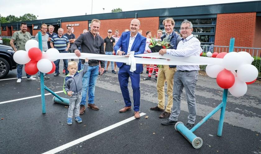 Nieuw parkeerterrein Jan van Arckel
