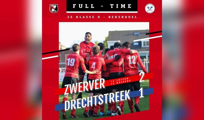 • De Zwerver - Drechtstreek (2-1).