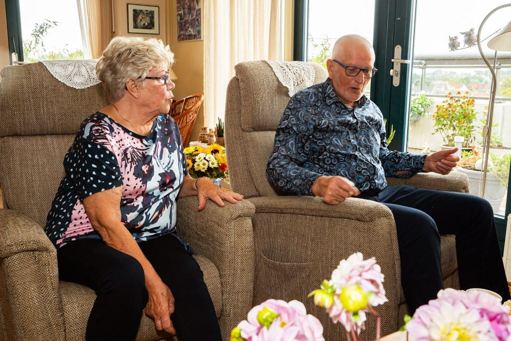 Echtpaar Feller 65 jaar getrouwd Foto: Nico Van Ganzewinkel © Vianen