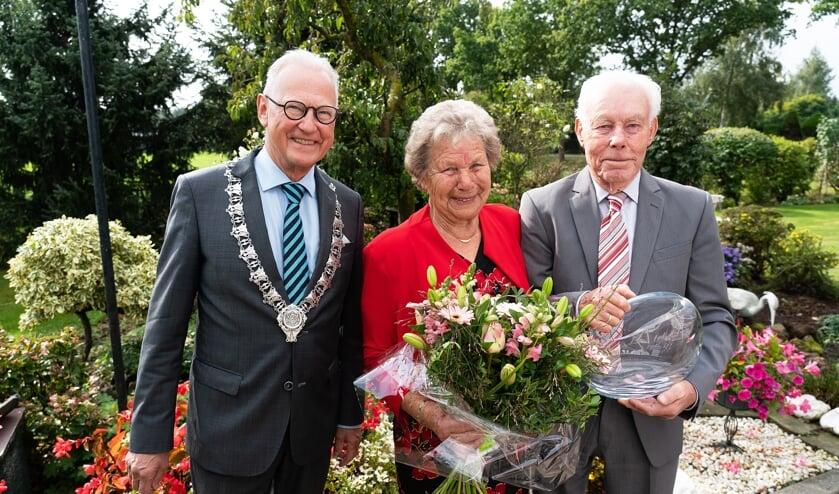 Echtpaar van Eck Van Vulpen 60 jaar getrouwd
