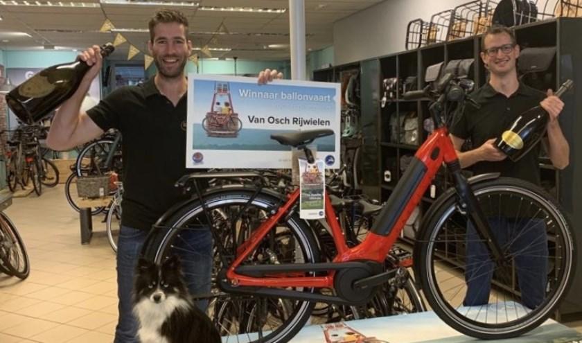 • Jasper Bax en Jeroen Aardewijn weten alles van Gazelle, en van andere fietsen natuurlijk.