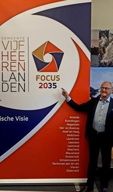 • Burgemeester Jan Pieter Lokker onthulde vandaag het toekomstvisietraject