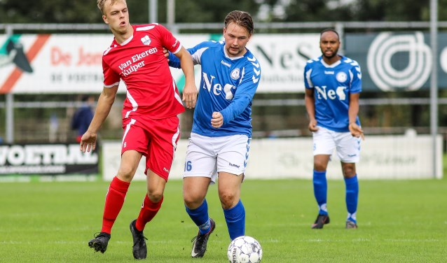 • Schelluinen - SVS'65 (2-1). Foto: Rick den Besten © regiosport