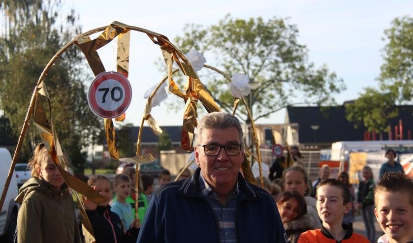 Meneer Wim 70 jaar.