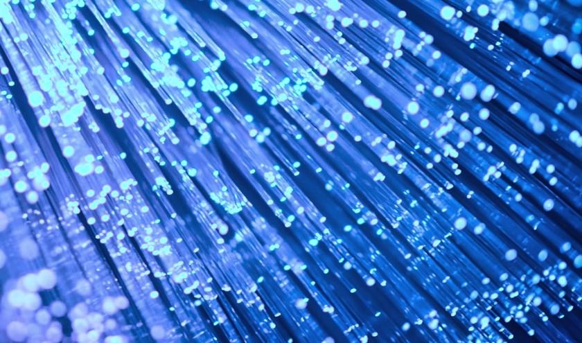 • Glasvezel levert een snelle internetverbinding op.