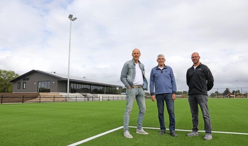 • V.l.n.r.: Sjaak Versluis, Dick Zaal en Marcel Kers.