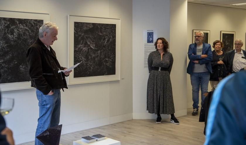 opening solo expositie Astrid van Rijn door Atte Jongstra