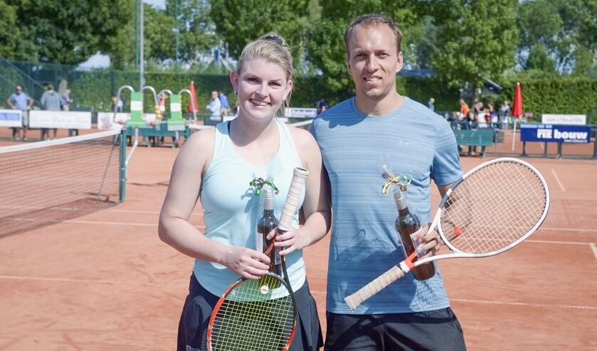 • Chantal van Poppelen en Senne Braun.