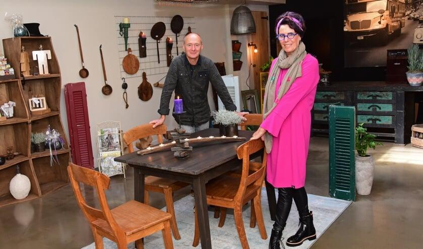 • Jacqueline en Wim: ook zakelijk een duo.