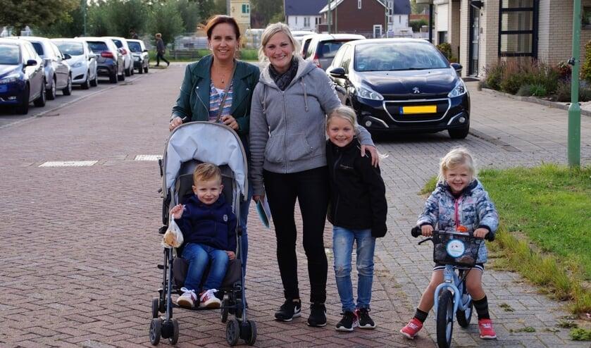 • Jong en oud wandelde mee in Nieuwendijk.