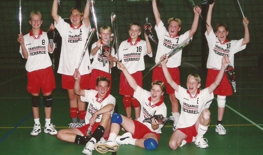 • Bevoc-jongens 1 kampioen (maart 2001).