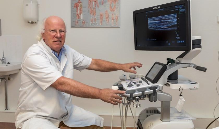 • Daan Piers van Medisch Centrum de Rivieren beschikt over hightech apparatuur.