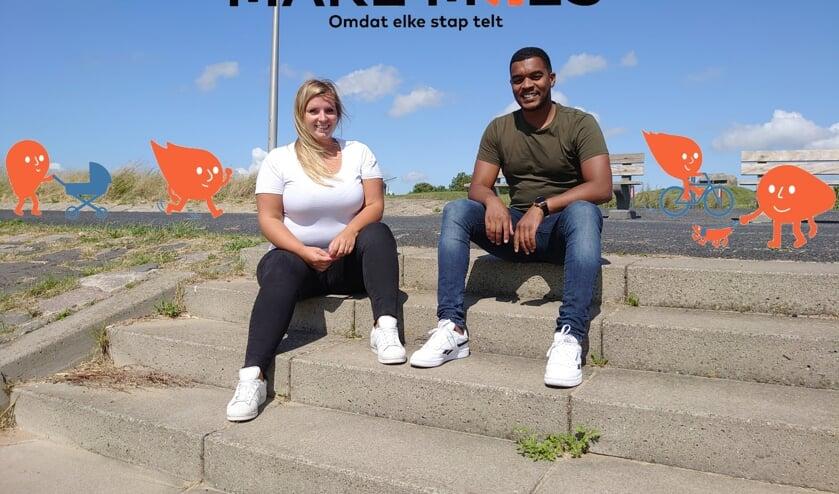 • Willemijn en Öner willen met hun app aanzetten tot bewegen en doneren.