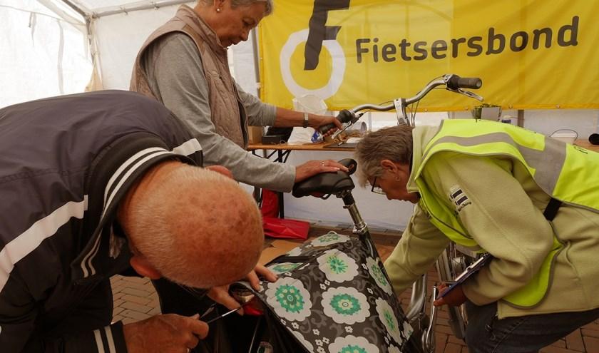 Fietscontrole actie Papendrecht in 2018