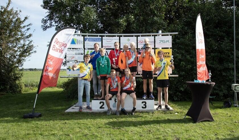 • De prijswinnaars in Kockengen.