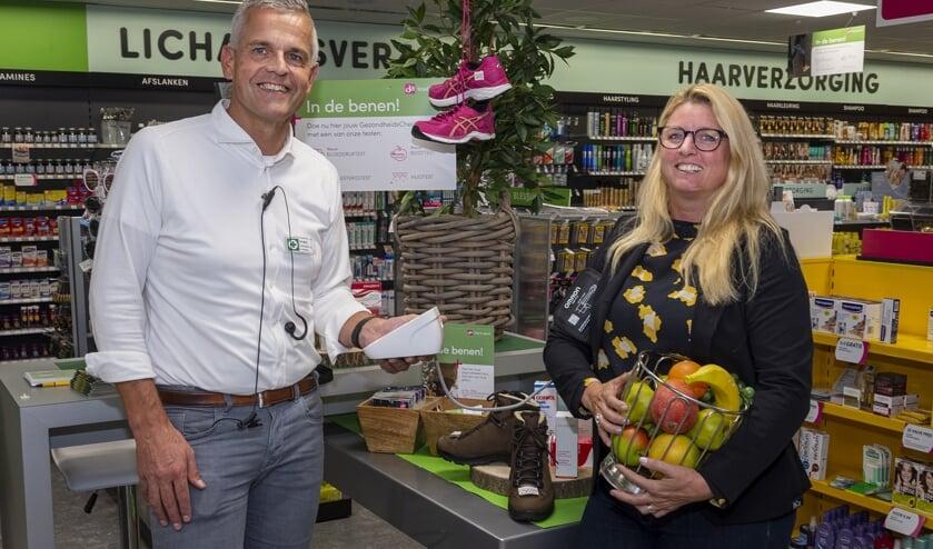 • Wim Rodenburg en Maaike van Weering (Reos) kijken uit naar de Gezondheidsdag.