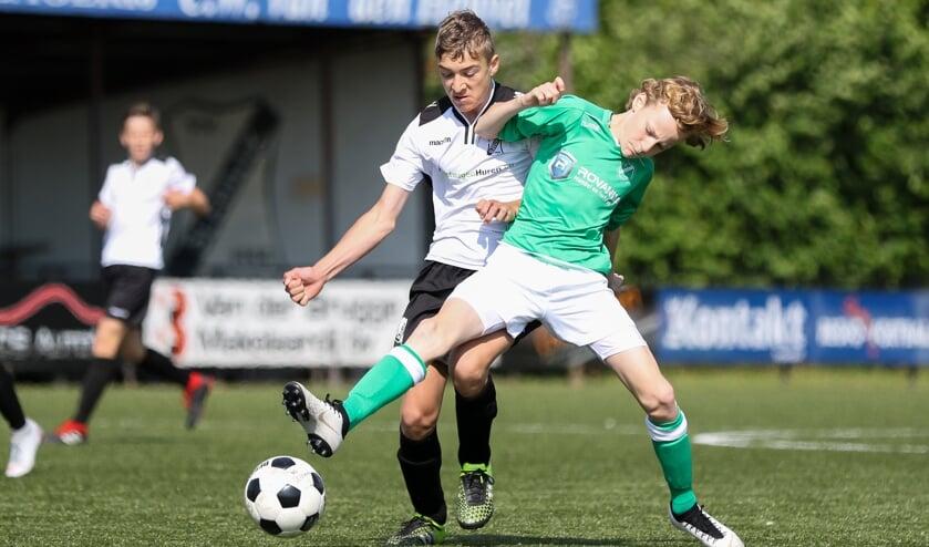 • De JO13-finale van vorig seizoen tussen Sleeuwijk en VVAC.
